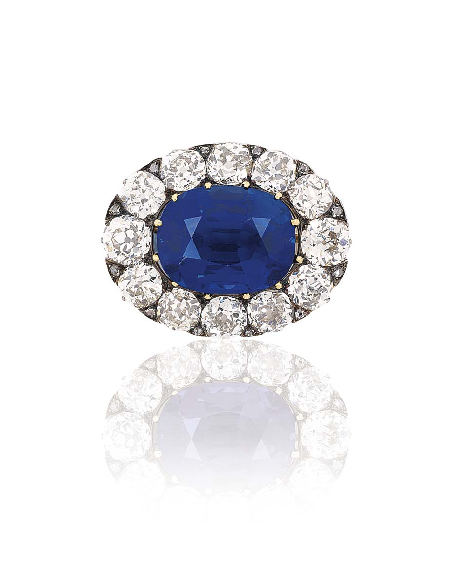 burmese rings and image gold sapphire yellow diamond set in a ring