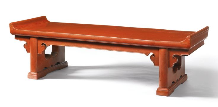A Red Lacquer Low Table, Kangji, Ming Dynasty. Estimate 40,000 U2014 60,000  GBP. Photo: Sothebyu0027s