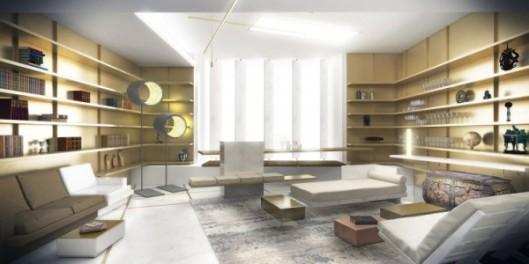 Le bar-bibliothèque d'Isabelle Stanislas