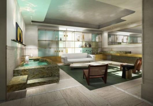 Le salon de bains de Charles Zana