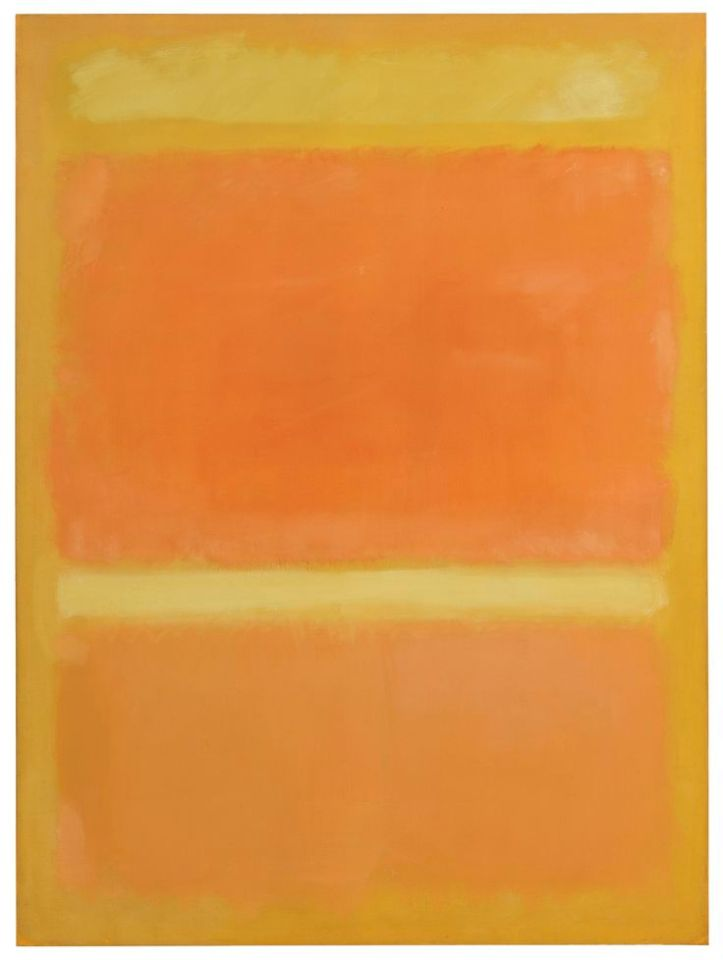 Image result for Untitled (Yellow, Orange, Yellow, Light Orange)