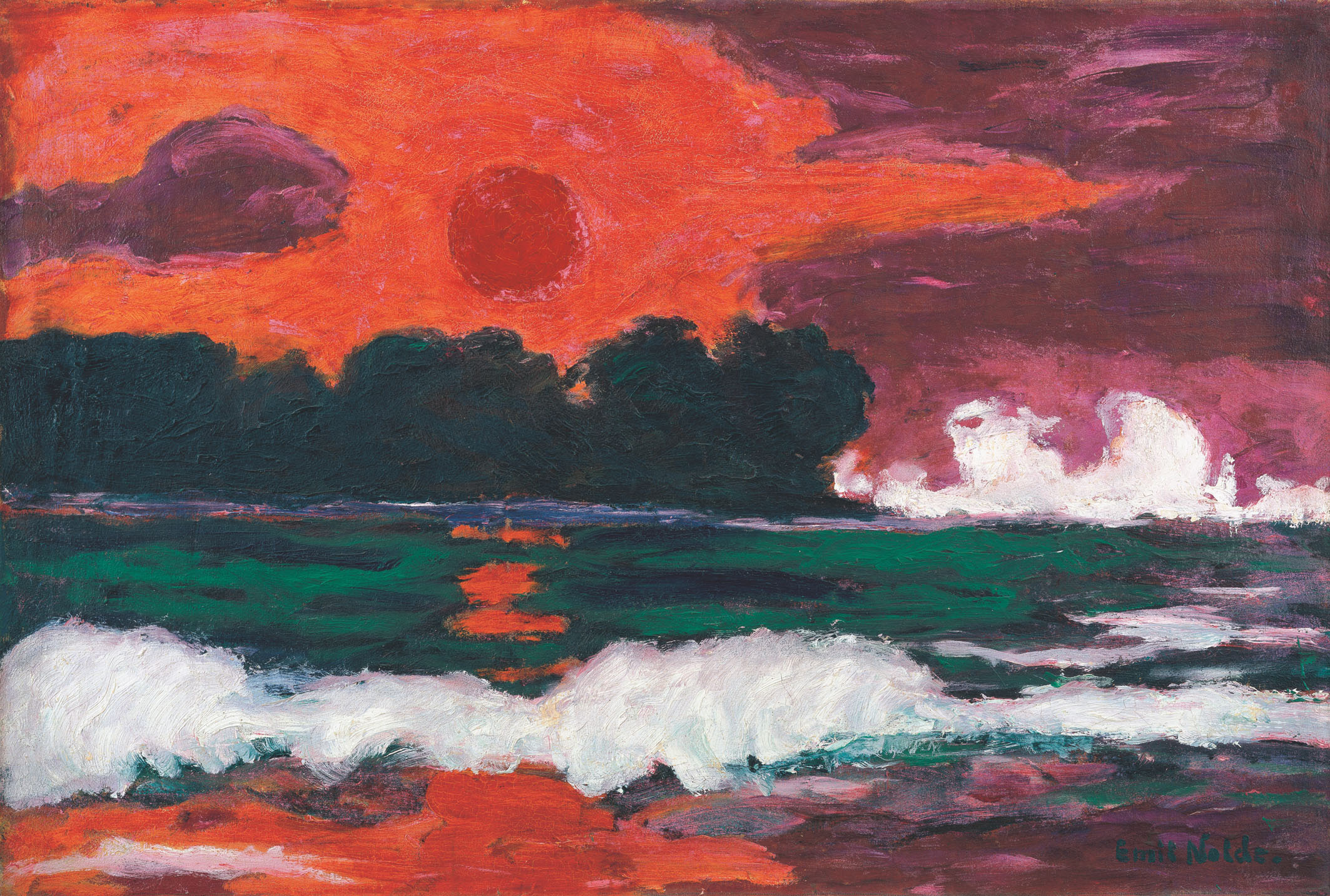 emil nolde master of the watercolour