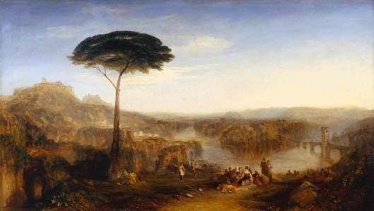 Childe Harold's Pilgrimage - Italy exhibited 1832 by Joseph Mallord William Turner 1775-1851