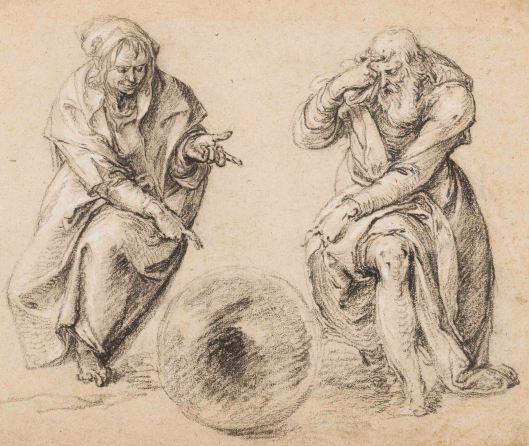 Jacob de Gheyn, Heraclitus en Democritus