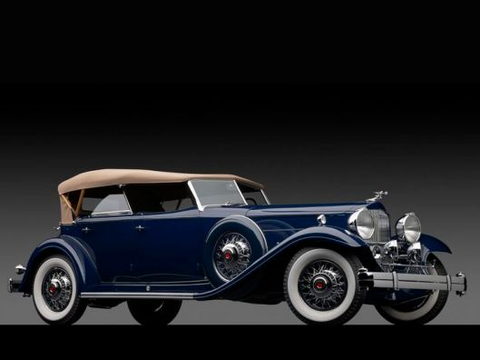 1932 Packard Deluxe Eight Individual Custom Sport Phaeton by Dietrich