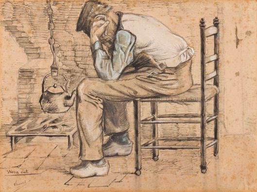 "Vincent van Gogh, ""Worn out"""