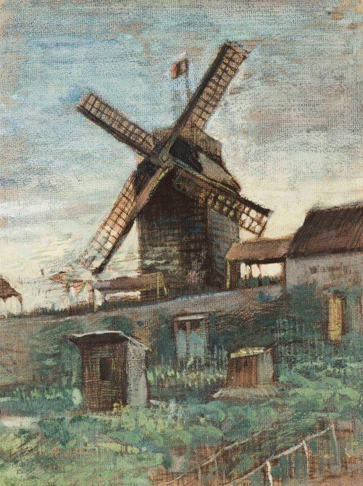Vincent van Gogh, De Moulin de la Galette