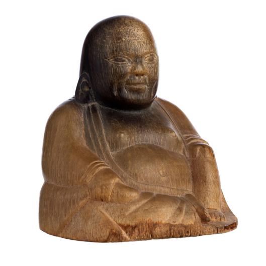 Buddha in rhinoceros horn, 19th century