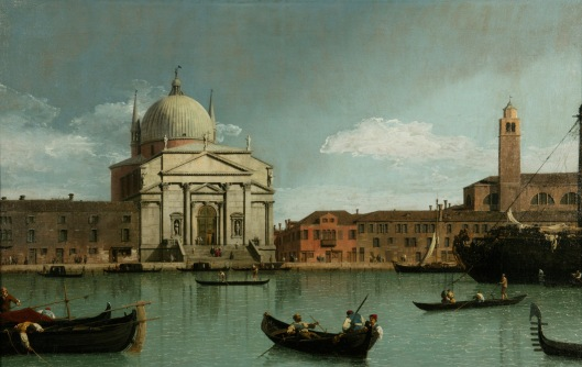 The Church of the Redentore, Venice by Canletto