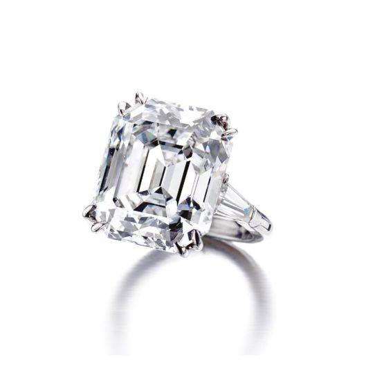 Diamond ring, Van Cleef & Arpels, New York