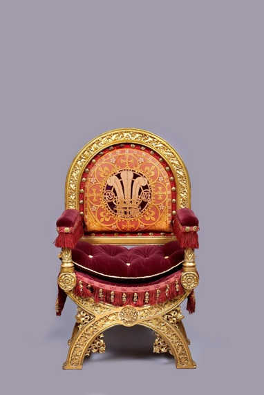 Throne of the Prince of Wales, 1847.