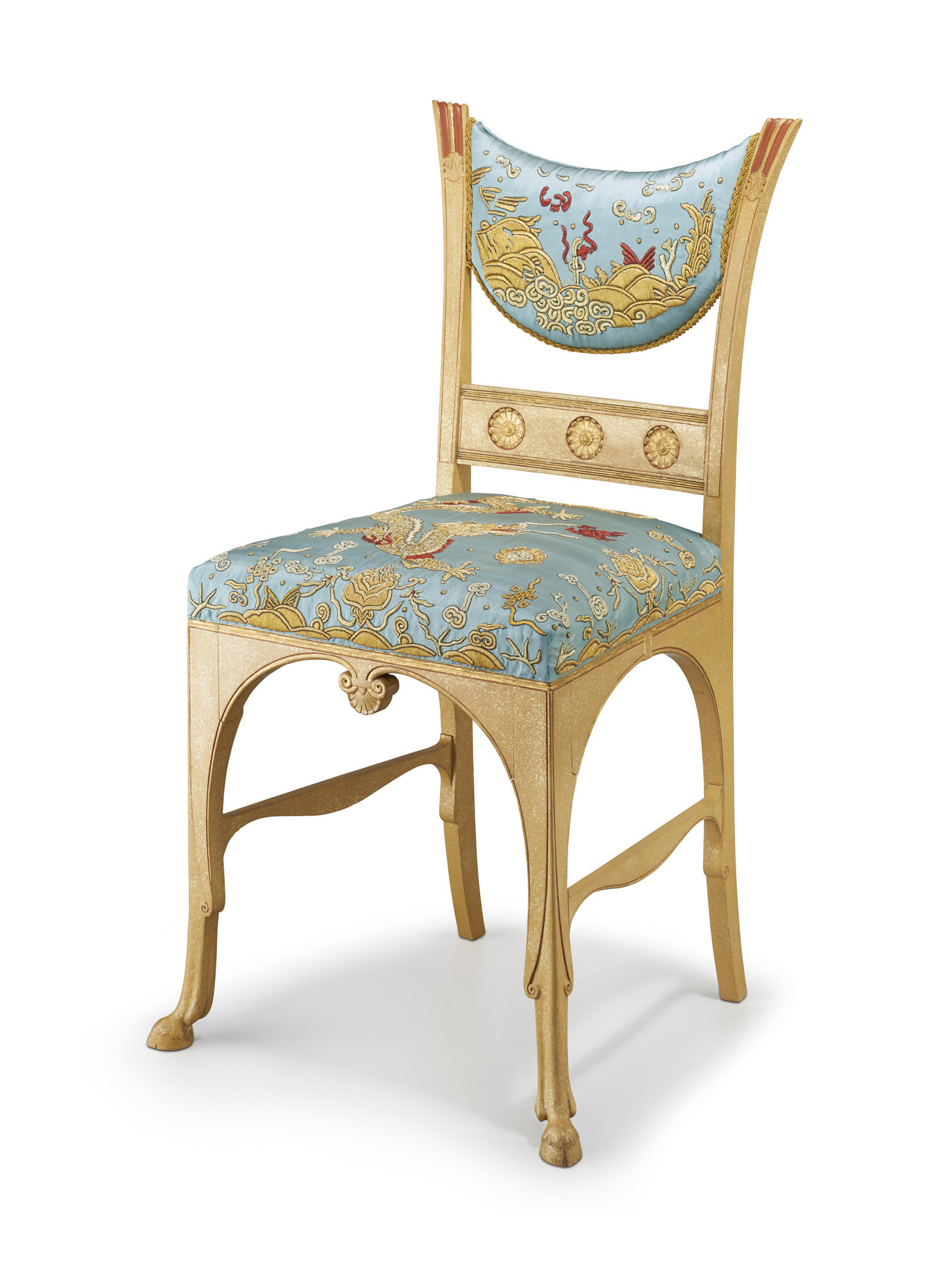 Authentic egyptian furniture - Winter Antiques Show Side Chair