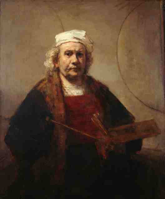 Rembrandt - Self Portrait J910070