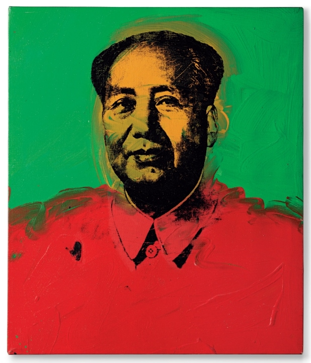3 Andy Warhol, Mao, Christieu0027s, New York, 15 May 2013, Lot 39. © 2014 The Andy  Warhol Foundation For The Visual Arts, Inc. / Artists Rights Society (ARS),  ...