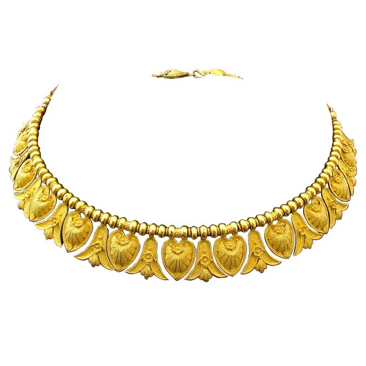 Antique-Italian-Gold-Etruscan-Style-Necklace-Camilla-Dietz-Bergeron