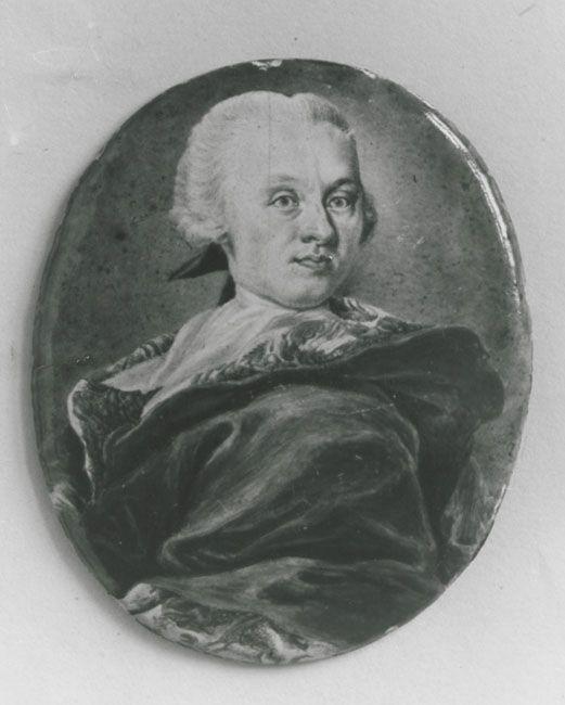 um 1748, Email auf Kupfer