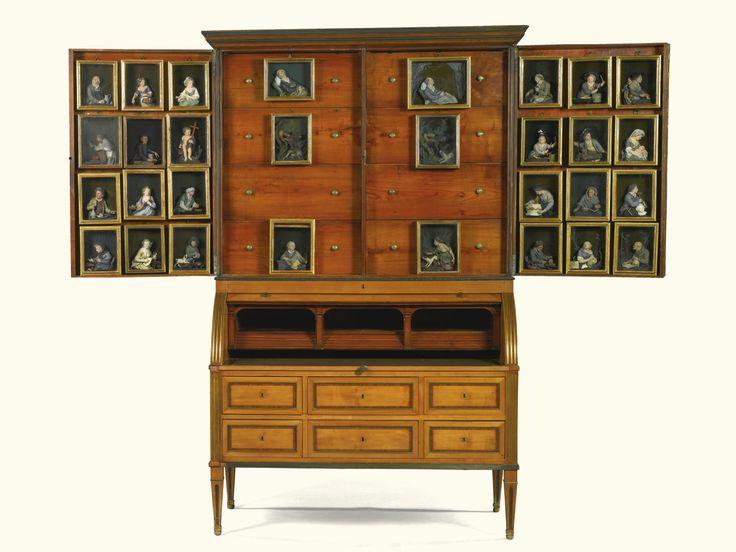 Cherrywood Bureau Cabinet Figuri Schrank Alain R Truong