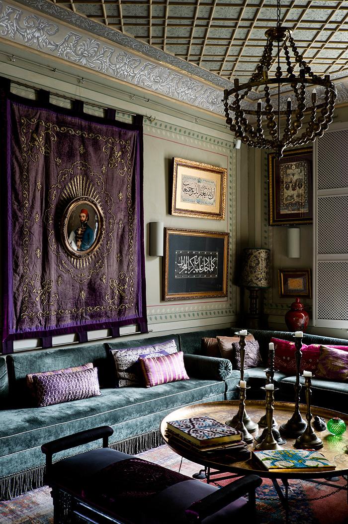 Faste ottoman chez l architecte d int rieur serdar g lg n for Decoration maison islam