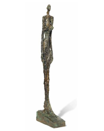 Alberto-Giacometti-Femme-de-Venise-V-1958-via-Christies